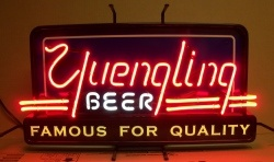 Yuengling Beer Retro Neon Sign beer sign collection My Beer Sign Collection 2 – Not for sale but can be bought… yuenglingretroused