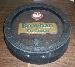 Broyhan Premium Beer Barrel Sign