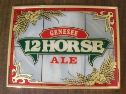 Genesee 12 Horse Ale Sign [object object] Home genesee12horsealenis