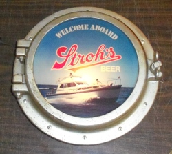 Strohs Beer Porthole Light [object object] Home strohsbeerportholelightused