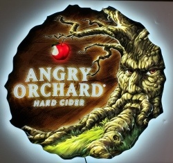 Angry Orchard Hard Cider LED Sign