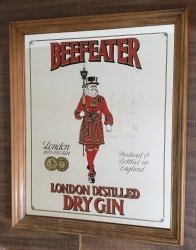Beefeater London Gin Mirror