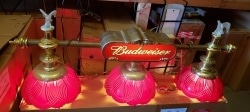 Budweiser Beer Pool Table Light [object object] Home budweisereaglepooltablelight
