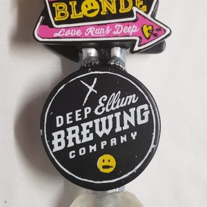 Deep Ellum Dallas Blonde Ale Tap Handle [object object] Home dallasblondetapfront 300x300