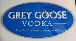 Grey Goose Vodka Tin Sign