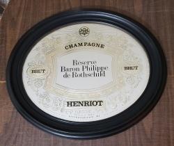 Henriot Champagne Mirror