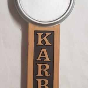 Karbach Beer Tap Handle