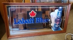 Labatt Blue Beer Mirror