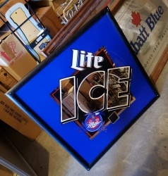 Lite Ice Beer Mirror