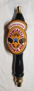 Newcastle Brown Ale Tap Handle newcastle brown ale tap handle Newcastle Brown Ale Tap Handle newcastlebrownalebadgetap 114x300