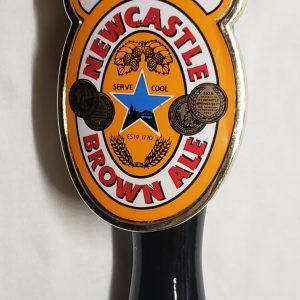 Newcastle Brown Ale Tap Handle [object object] Home newcastlebrownalebadgetap 300x300