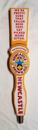 Newcastle Brown Ale Tap Handle