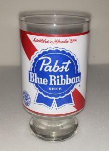 Pabst Blue Ribbon Beer Glass pabst blue ribbon beer glass Pabst Blue Ribbon Beer Glass pabstblueribbonlabelquartglass 217x300