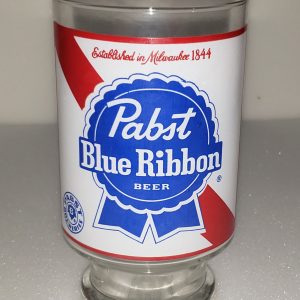 Pabst Blue Ribbon Beer Glass [object object] Home pabstblueribbonlabelquartglass 300x300