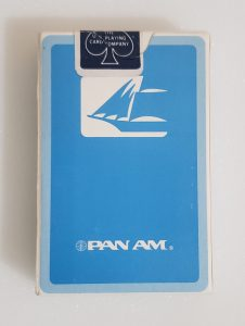 Pan Am Airlines Playing Cards pan am airlines playing cards Pan Am Airlines Playing Cards panamplayingcardsbluebox 226x300