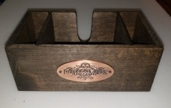 Rebecca Creek Texas Whiskey Napkin Holder [object object] Home rebeccacreekwhiskeynapkinholder