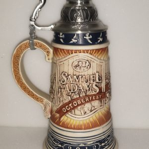 Samuel Adams Beer Octoberfest Stein