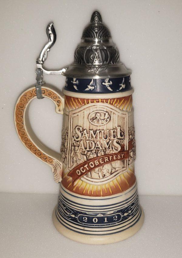 Samuel Adams Beer Octoberfest Stein