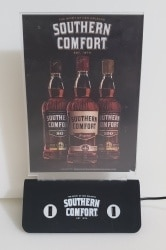Southern Comfort Whiskey LED Table Tent southern comfort whiskey led table tent Southern Comfort Whiskey LED Table Tent southerncomfortledtentholderchargeroff