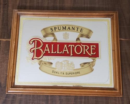 Ballatore Spumante Wine Mirror