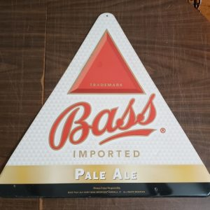 Bass Pale Ale Tin Sign