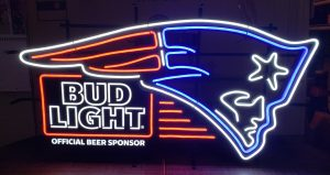 Bud Light Beer NFL New England Patriots LED Sign bud light beer nfl new england patriots led sign Bud Light Beer NFL New England Patriots LED Sign budlightnflpatriotsled 300x159