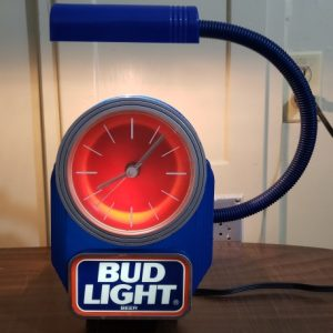 Bud Light Beer Register Clock [object object] Home budlightregisterlightedclock1991 300x300