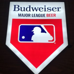 Budweiser Beer MLB Baseball LED Sign