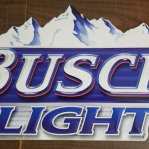 Busch Light Beer Tin Sign