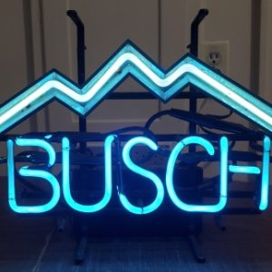 Busch Beer Neon Sign