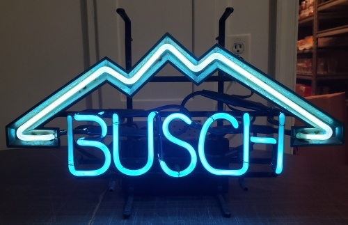 Busch Beer Neon Sign