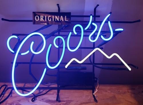 Coors Original Beer Neon Sign
