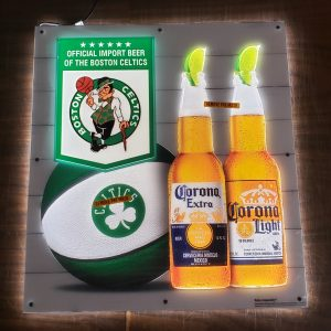 Corona Beer NBA Boston Celtics LED Sign