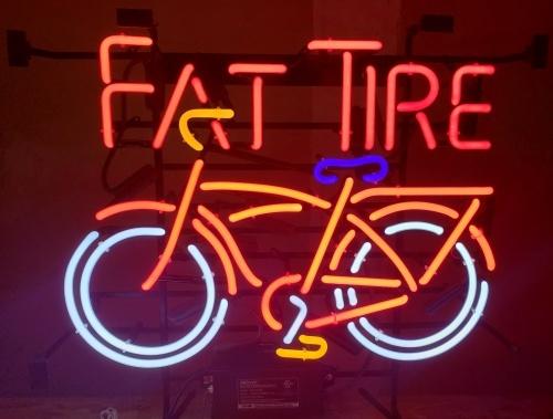 Fat Tire Beer Neon Sign