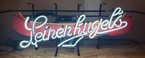 Leinenkugels Beer Canoe Neon Sign