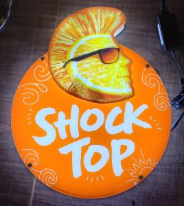Shock Top Beer LED Sign shock top beer led sign Shock Top Beer LED Sign shocktoporangeled 268x300