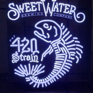Sweetwater 420 Strain IPA LED Sign