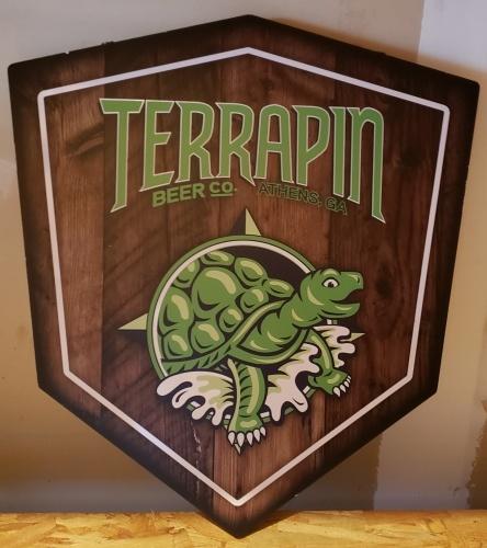Terrapin Beer Wood Sign