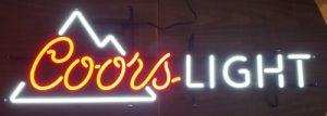 Coors Light Beer LED Sign coors light beer led sign Coors Light Beer LED Sign coorslightled2018 300x107