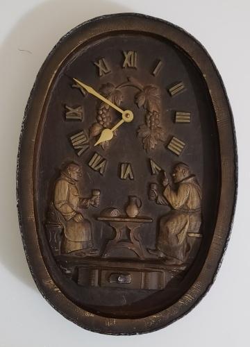 German Beer Clock Sign