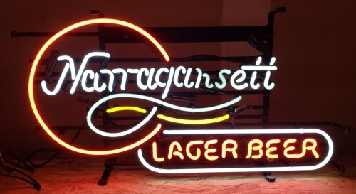 Narragansett Lager Beer Neon Sign