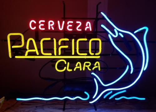 Pacifico Clara Cerveza Neon Sign