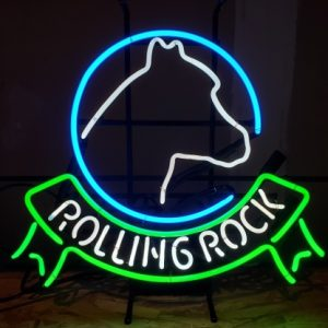 Rolling Rock Beer Neon Sign [object object] Home rollingrockhorseheadribbon1998 300x300