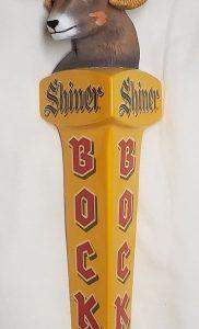 Shiner Bock Ram Head Tap Handle