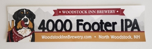 Woodstock 4000 Footer IPA Sticker