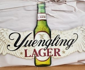 Yuengling Lager Tin Sign [object object] Home yuenglinglagerbottlewithwingstin 300x247