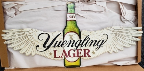 Yuengling Lager Tin Sign