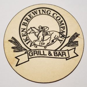 Aiken Brewing Company Coaster
