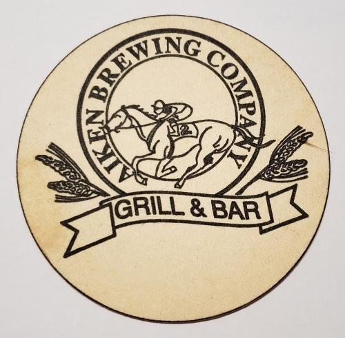 Aiken Brewing Company Coaster