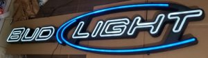 Bud Light Beer LED Sign bud light beer led sign Bud Light Beer LED Sign budlightled6foot2008 300x84